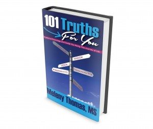 101 Truths Book Cover Angled View